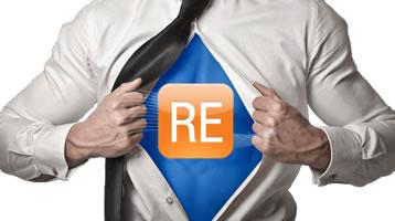 Raiser's Edge Superhero with RE on Chest