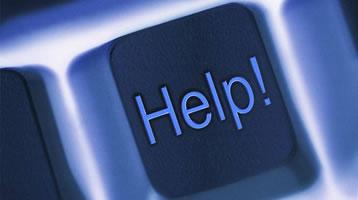 Training Help Button on Keyboard